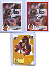"""AARON RODGERS 2004-05 """"3"""" CARD ROOKIE CARD LOT! 1ST ROOKIE CARDS EVER PRINTED!"""