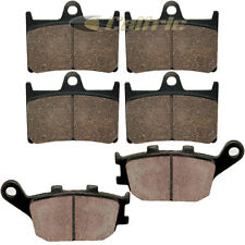 FRONT REAR BRAKE PADS FITS YAMAHA R6 YZFR6 YZF-R6 2003-2016 FRONT REAR PADS