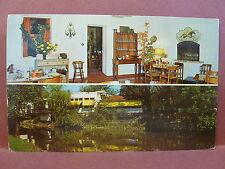 Old Postcard IL Geneva Mill Race Inn