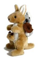 JUMBACK KOALA KANGAROO PIGGY-BACK STUFFED ANIMAL PLUSH TOY 23cm **FREE DELIVERY*