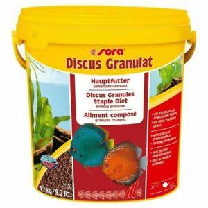 4.2Kg Sera Discus Granule Fish Food 10L Cichlid Ornamental Aquarium Tank Variety