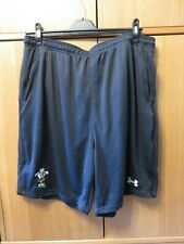 Under Armour Mens Dark Grey Heatgear Shorts - Size XXL - Welsh WRU Theme - NEW