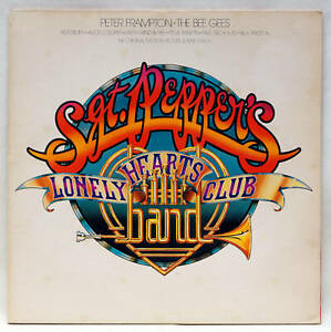 Sgt Peppers Lonely Hearts Club Band OST LP A&M AMLZ 66600 UK 1978 Nice Condition