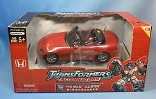 New listing 2004 Hasbro Transformers Alternators Honda S2000 Windcharger New Sealed Misb