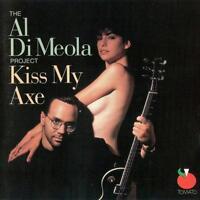 Audio CD - Al Di Meola - Kiss My Axe  - USED Very Good (VG) WORLDWIDE DiMeola