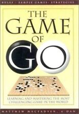 The Game of Go by Macfadyen, Matthew Paperback Book Free Shipping