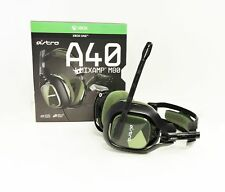 Astro Gaming A40 Gaming TR Headset + MixAmp M80 Black Olive Xbox One