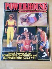 POWERHOUSE bodybuilding muscle magazine/MIA FINNEGAN Summer 1995