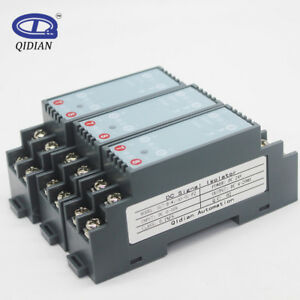 DC Signal Isolated Transmitter 4-20mA Signal Isolator Transducer 1 In 1 Out