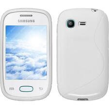 Funda de silicona Samsung Galaxy Pocket Neo S-Style - blanco Case