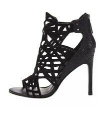 Dolce Vita Hart Cutout Sandals Shoes Heels Pumps Black sz 6.5