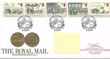 wbc. - GB - FIRST DAY COVER - FDC - COMMEMS -1984- ROYAL MAIL -  Pmk B'tl + cach