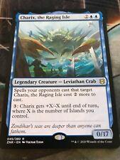 Zendikar Rising - CHARIX, THE RAGING ISLE Rare  - Pack Fresh - 1 Card