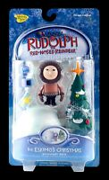 New Santa 2002 Rudolph Red Nosed Reindeer Eskimo's Christmas Memory Lane MOC