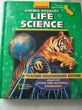 Glencoe Science Voyages Life Science California Teacher Edition 0078239907 Gr 7