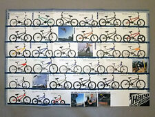 Collectable Haro Bmx bicycle, New products catalog/poster