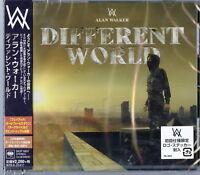 ALAN WALKER-DIFFERENT WORLD-JAPAN CD BONUS TRACK Ltd/Ed E78