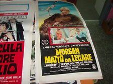 MORGAN MATTO DA LEGARE locandina originale 1966
