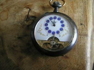 hebdomas pocket watch spares or repair