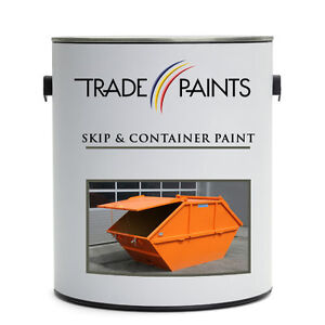 Skip & Shipping Container Metal Paint - Matt / Semi / Gloss