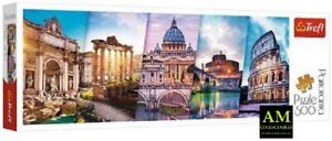 Trefl Panorama Puzzle - Journey By Italy - 500 Pieces New/Boxed