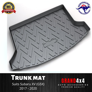 Heavy Duty Cargo Rubber Boot Liner Trunk Mat Luggage for Subaru XV 2017-2020