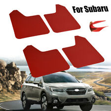 Mud Flaps Splash Guards Mudguards Mudflap For Subaru Forester BRZ SF 4X Red
