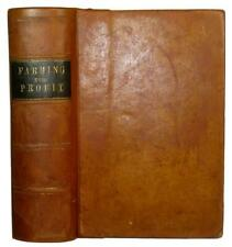 New Listing1881 Farm Guide House Barn Horse Cow Bees Mechanic Plow Tools Orchard Antique