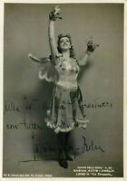 Opera - Autografo del soprano Sabina Actis Orelia (Milano, 1920 - Venezia, 2010)