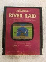 River Raid Atari 2600 Video Game System CARTRIDGE ONLY UNTESTED FREE S/H