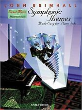 Symphonic Themes Made Easy For Piano Solo Simple Brimhall Sheet Music Book S166