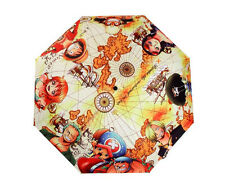 Free Shipping One Piece Cartoon Folding Umbrella The New World Luffy Robin