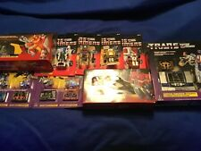Transformers g1 reissue Walmart exclusive figure lot Soundwave,Optimus,more new