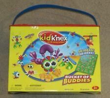 Lot 7 Kid K'Nex Crimpy Critters Monster Friends Bucket Of Buddies Undersea Pals