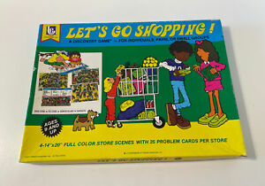 """Vintage """"Let's Go Shopping"""" Game by Trend Enterprises - 1977 Edition - Complete!"""