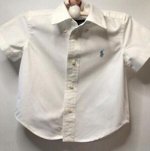 Ralph Lauren White Shirt Baby age 12months