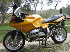 1 LEFT YELLOW TRIM COVER FAIRING ,PANEL YELLOW BMW R1100S  1998  259S WRECKING