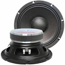 """SEISMIC AUDIO - Pair of 8"""" Bass Guitar Raw WOOFERS Speaker Driver Replacements"""
