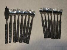 13 Northland Spring Fever Stainless Steel Flatware Cocktail / Seafood Forks