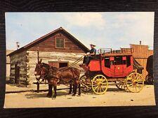 Old Abilene Town Stagecoach Rides Abilene, Kansas Chrome Postcard Unused New