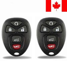 2x New Replacement Keyless Entry Remote Control Key Fob For Chevy Buick GMC