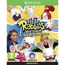 Rabbids Invasion The Interactive TV Show Microsoft Xbox One Brand New SEALED