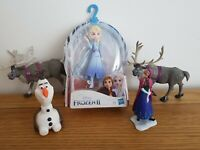 Disney Frozen 2 Elsa Character Doll New with used figures bundle Anna Olaf
