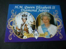 Queen Elizabeth II Diamond Jubilee postcard, 1952 - 2012