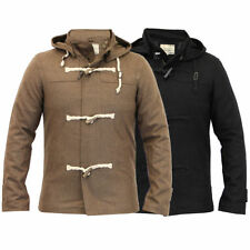 Brave Soul Cotton Hooded Coats & Jackets for Men