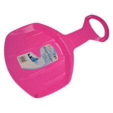 Hiver essentials ronde solo mini coulissant luge plastique neige planeur-rose