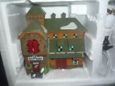 Department Dept 56 New England Village Mc Grebe Cutters & Sleighs Retired Mint
