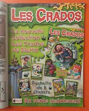 Pub pour l'Album Les Crados 3 de 2004 dans Kid Paddle Magazine
