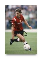 Bryan Robson Signed 6x4 Photo Manchester United England Genuine Autograph + COA