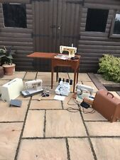 More details for job lot of 3 vintage sewing machines & toyota, all unchecked and untested